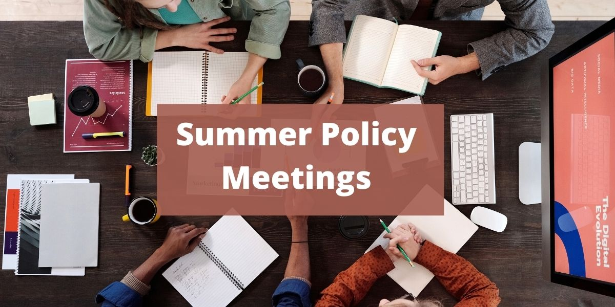 """Featured image for """"2021 Summer Policy Committee Meetings"""""""